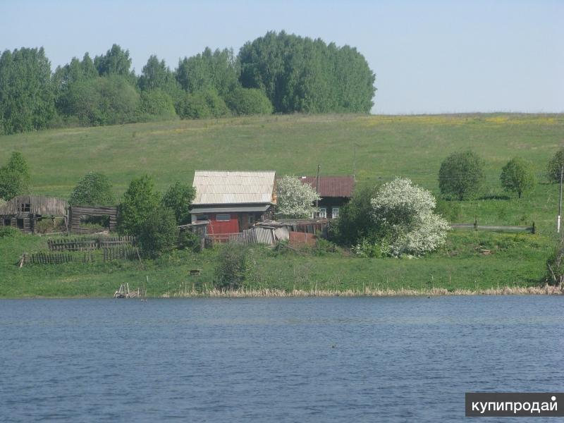 Дом 33 м2 на берегу пруда