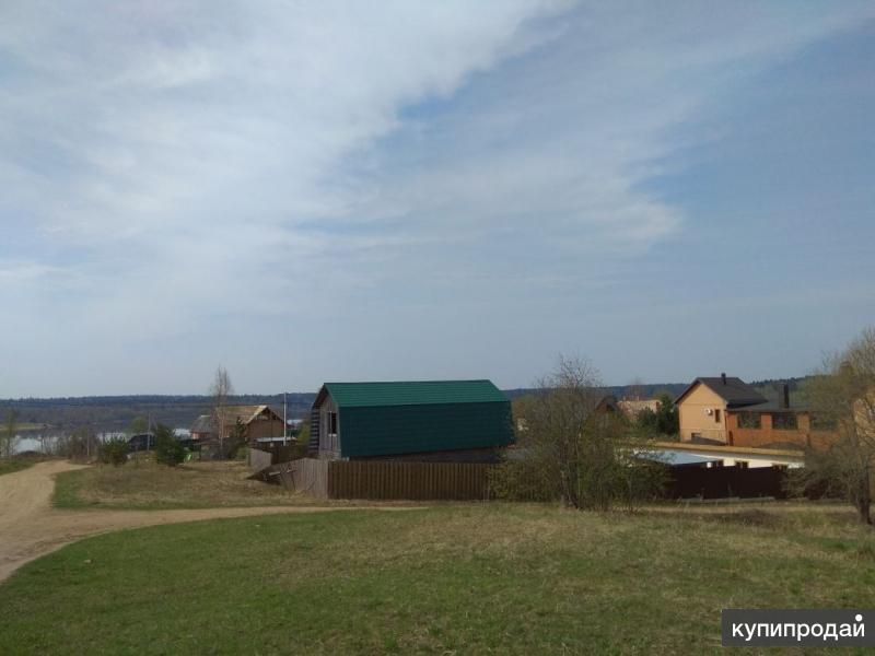 40 соток  в деревне на берегу Озернинского водохранилища