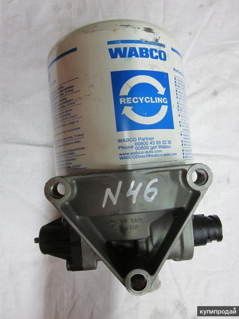 4324101127 Осушитель воздуха однокамерный  для грузовых автомобилей MAN