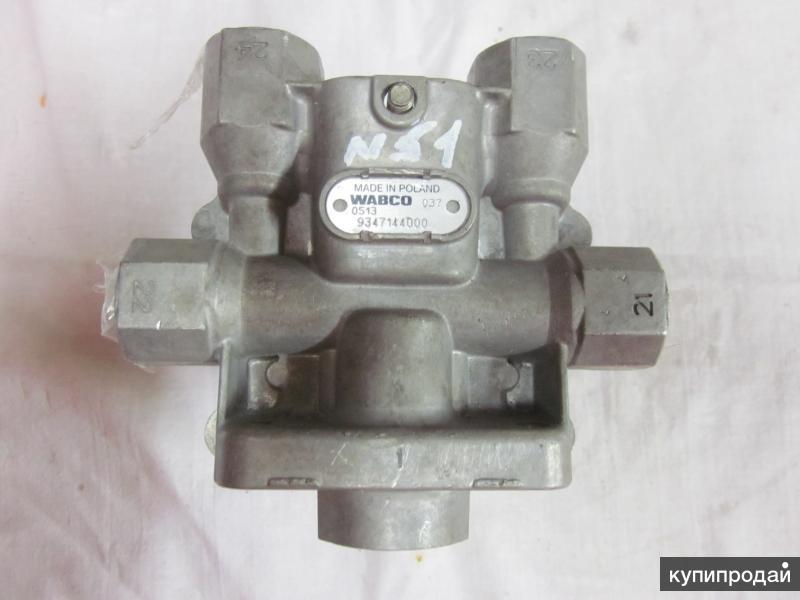 81.52151-6098 Клапан защитный 4-х контурный  для грузовых автомобилей