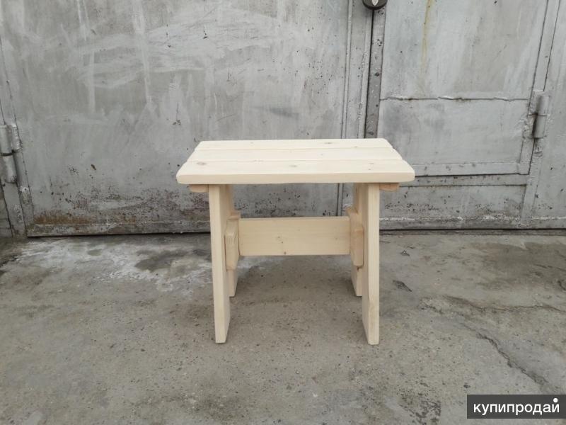 Столы, лавки из натурального дерева для дачи,бани