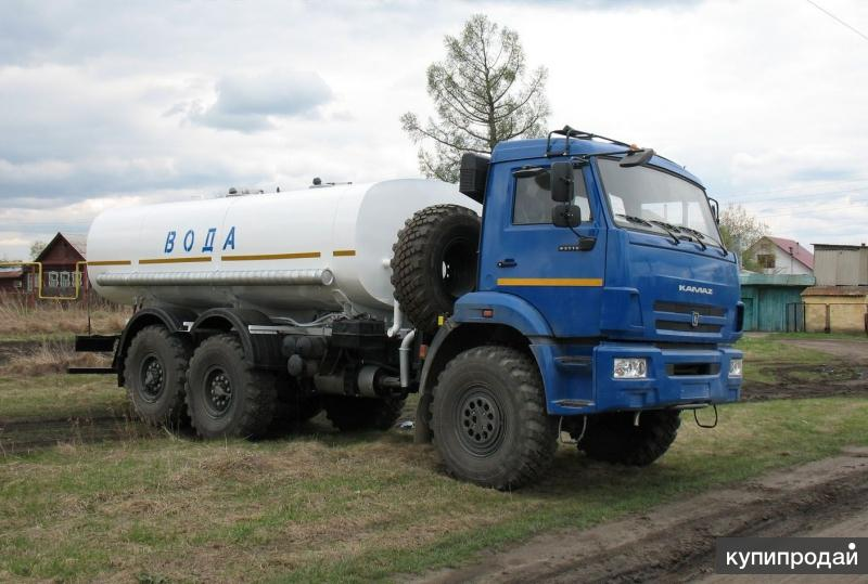 Пищевая автоцистерна на базе КамАЗ 6х6