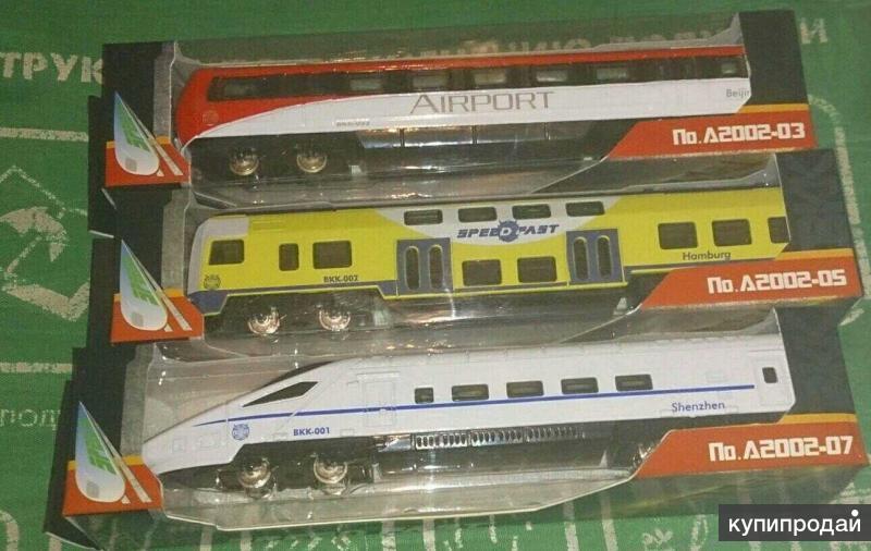 Металлические поезда и вагоны