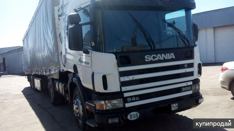 Срочно продам SCANIA 94G300 c прицепом SCHMITZ