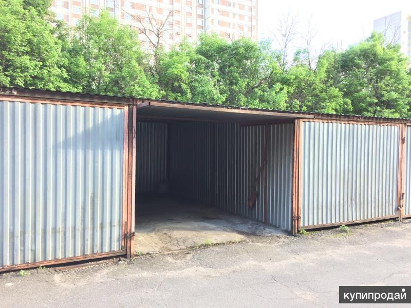 Металлический гараж в Химках, охраняемая территория