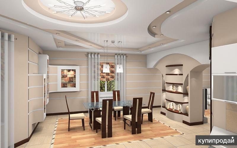 Дизайн интерьера и фасада любых стилей