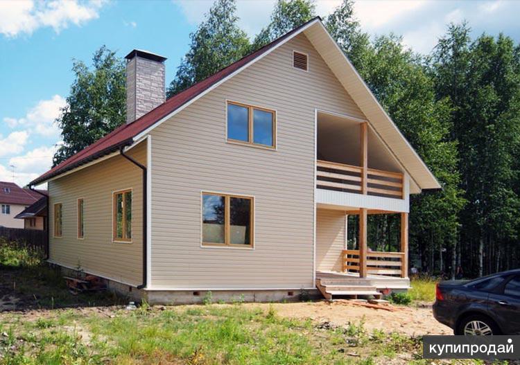 Шведский дом построим в Пензе, строительство каркасного жилья
