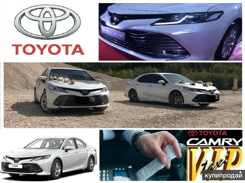 Лучшее предложение. Аренда новой модели Тойота Камри по фиксированной цене.