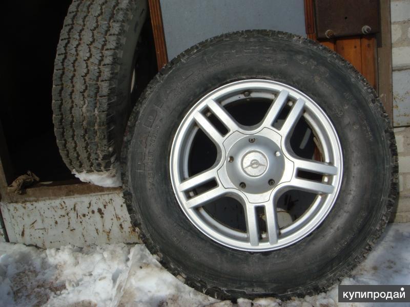 колёса в сборе на УАЗ