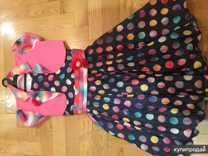 Нарядное платье на 140-152