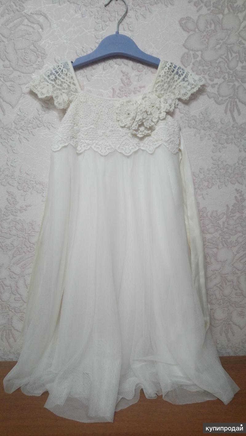 Платье, Monsoon, на 3-4 года