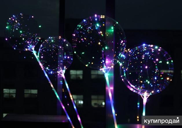 Светодиодные шары с гирляндой