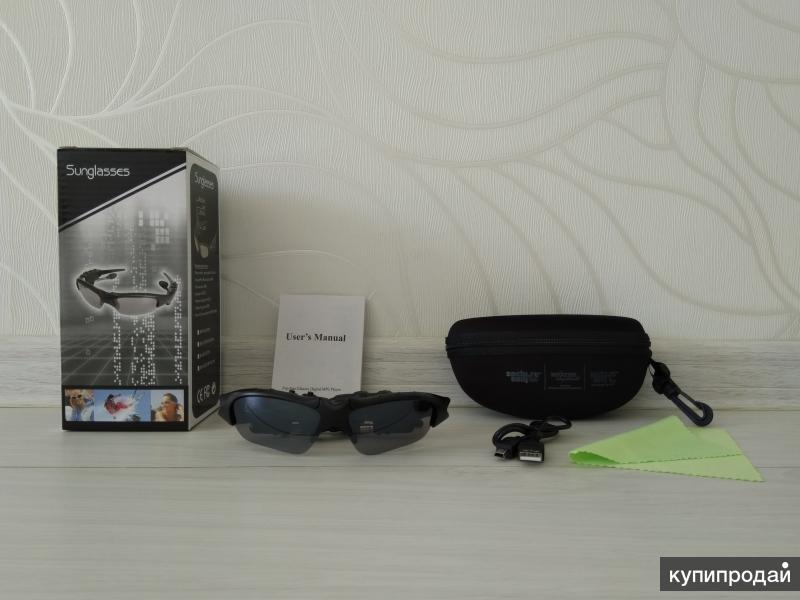 """Солнечные очки """"Sunglasses"""" 4GB с МР3 (новые)"""