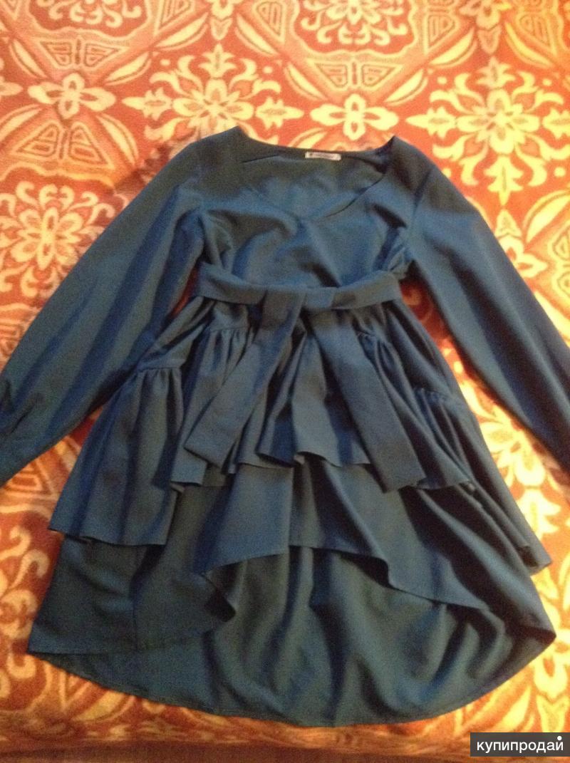 Платье- туника, в хорошем состоянии, размер S