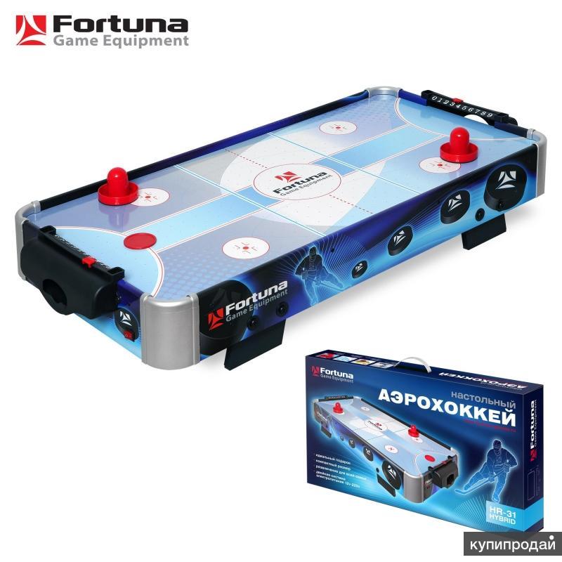 Настольный аэрохоккей Fortuna HR-31 Blue Ice Hybrid