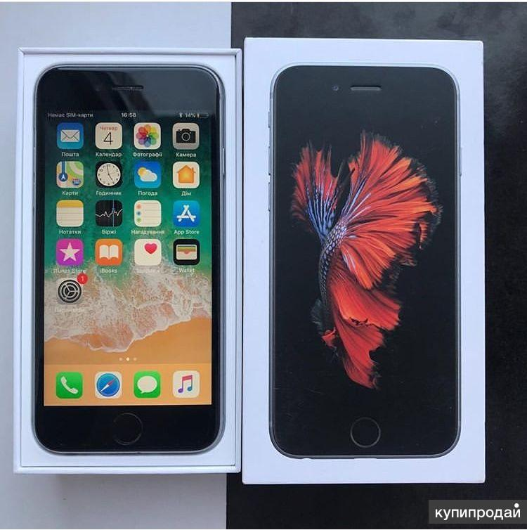 Apple iPhone 6s 32GB в идеальном состоянии, с комплектом