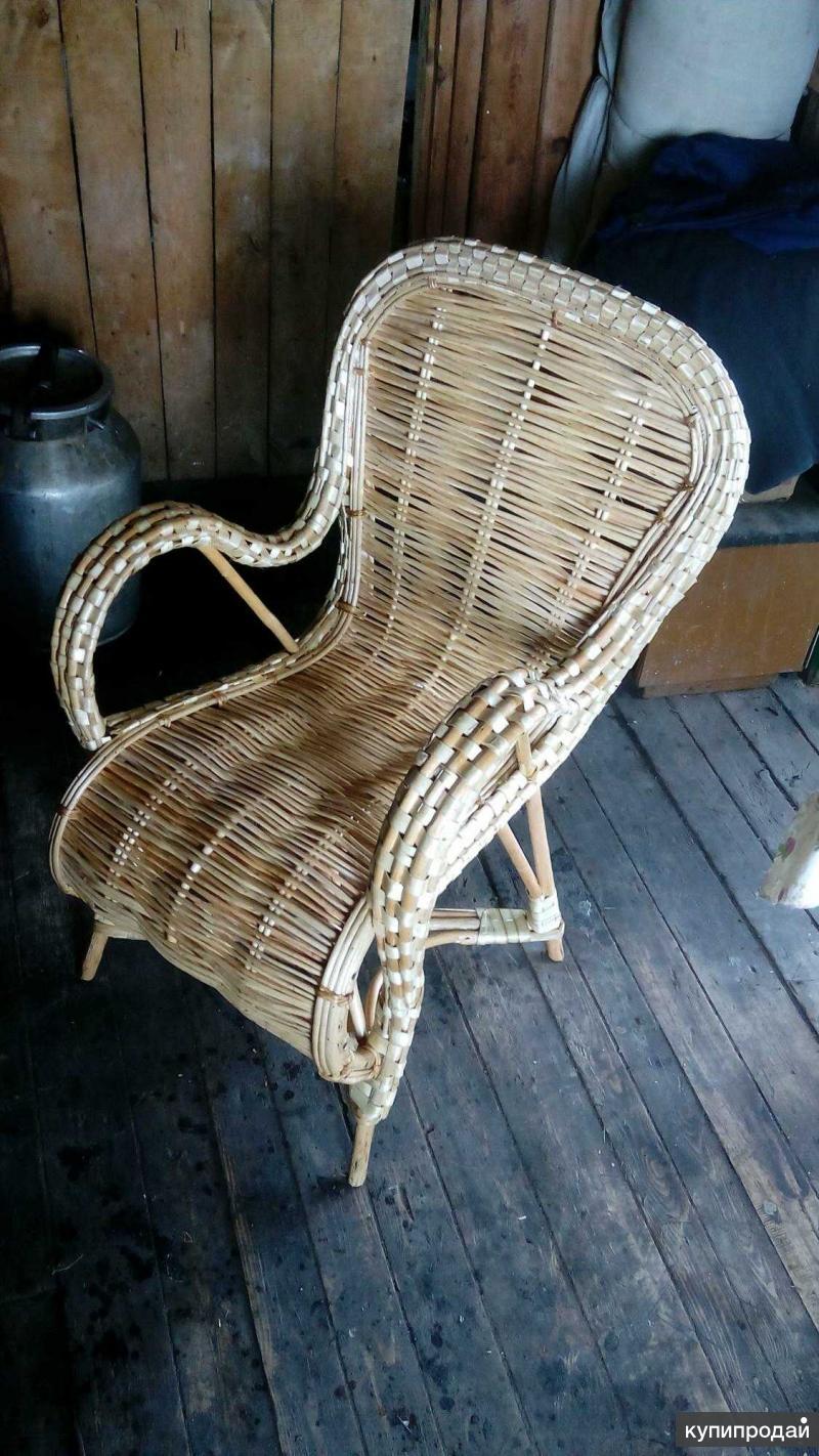 продам кресло из лозы