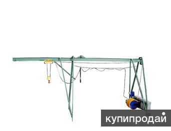 Строительные краны типа «Пионер» и Кран в окно «Умелец»