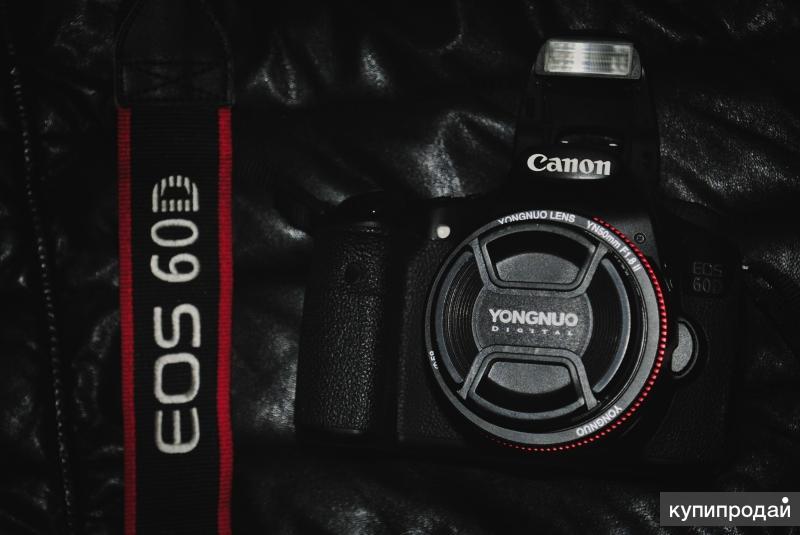 Canon EOS 60D + Yongnuo 50mm F/1.8 II + 32gb