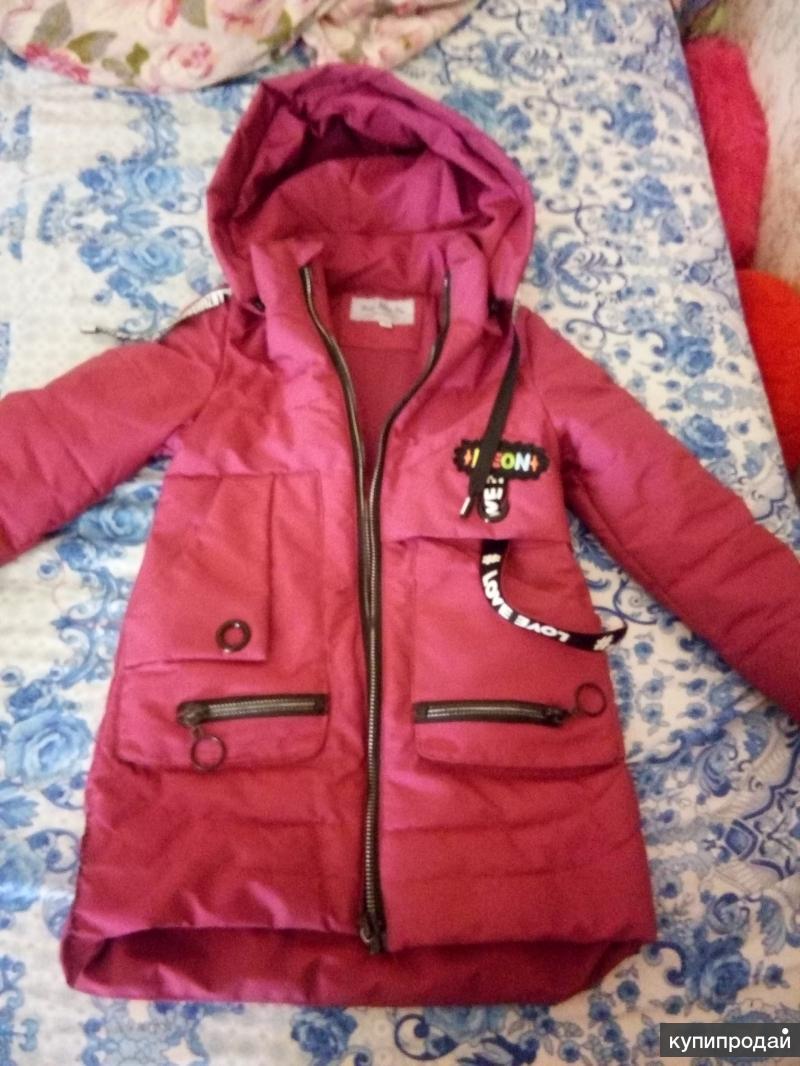 Куртка на девочку,116р-р