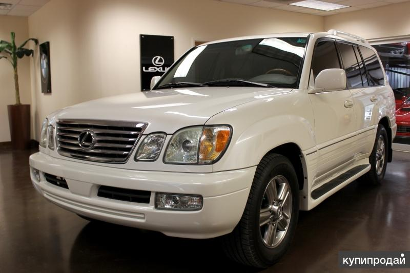 Lexus LX, 2005
