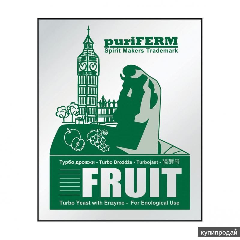 Турбо дрожжи Puriferm Fruit Turbo 50 г.