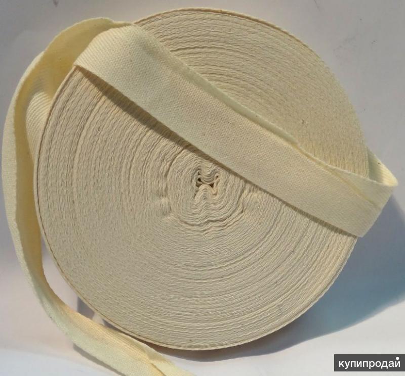 Лента тафтяная шириной от 10 мм