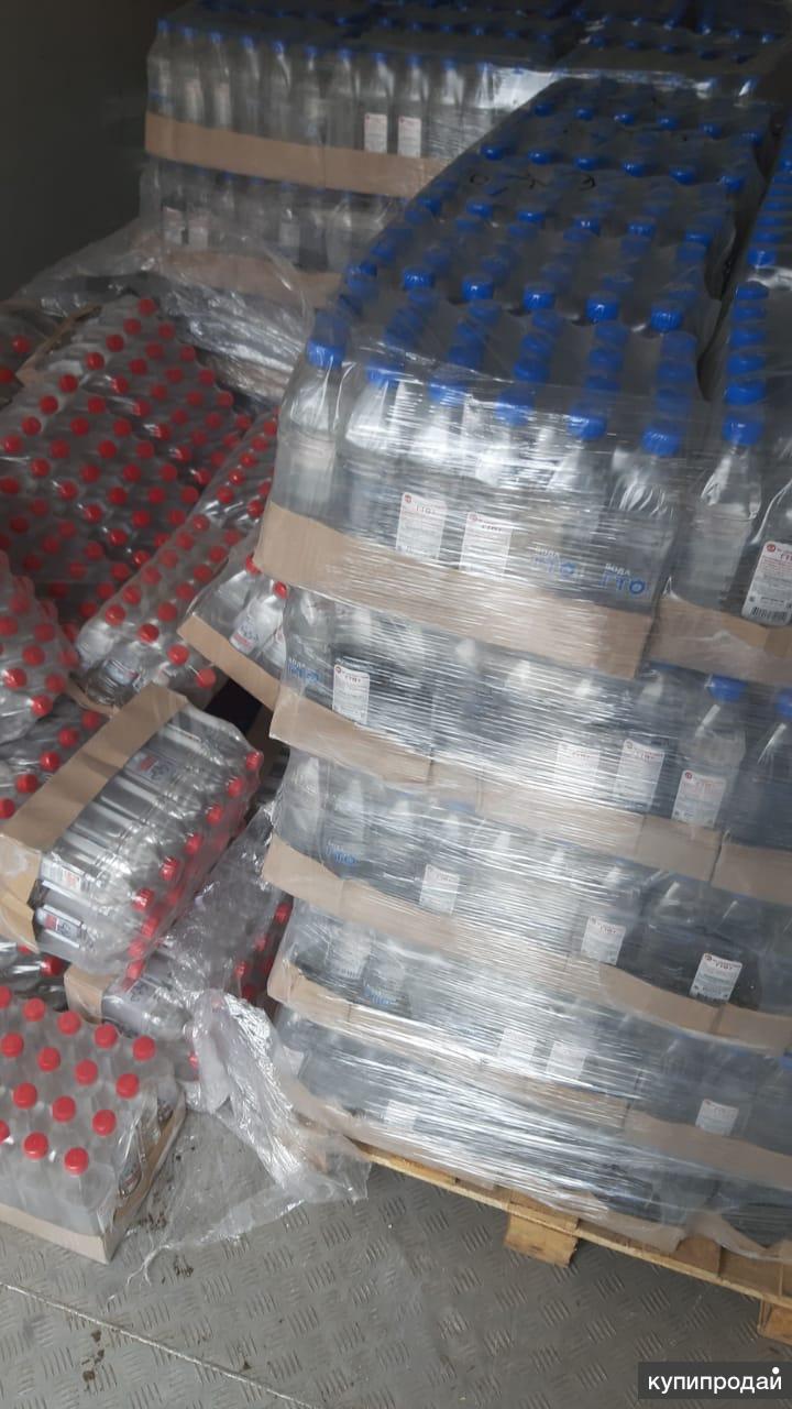 Продам воду 0,5 ГТО
