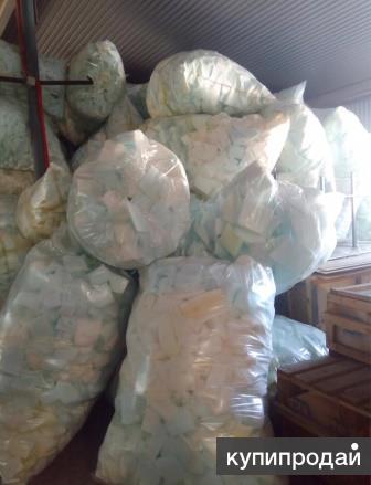 Куплю отходы, обрезки синтепона, поролона, стежки, спандбонда и др. отходы в люб