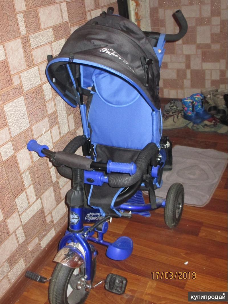 Продаю Трехколесный детский велосипед Super trike - Недорого!
