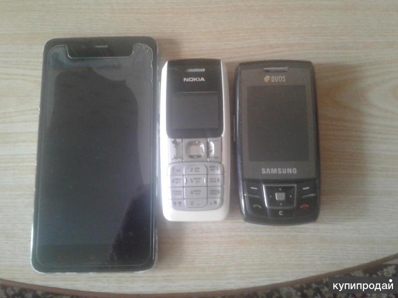 Продам смартфон и 2 телефона