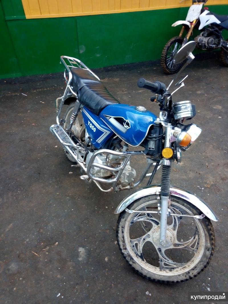 Мопед Alpha YQ50 2012