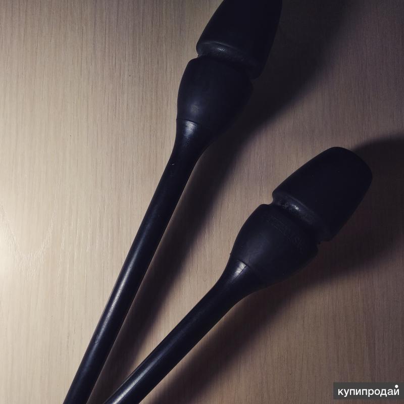 Булавы гимнастические Pastorelli ( черные)