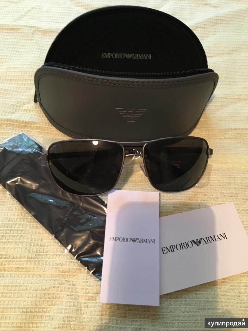 Солцезащитные очки Emporio Armani!