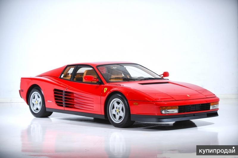 Ferrari Testarossa, 1991