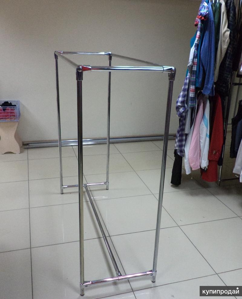 Торговое оборудование (стойка, вешало для одежды)