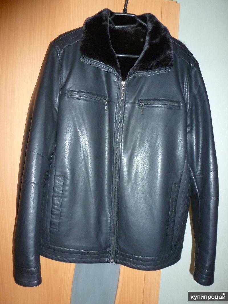 продам куртку кожаную зимнюю мужскую