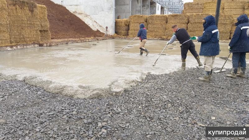 Требуются бетонщики