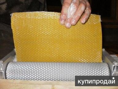 Вальцы для изготовления вощины