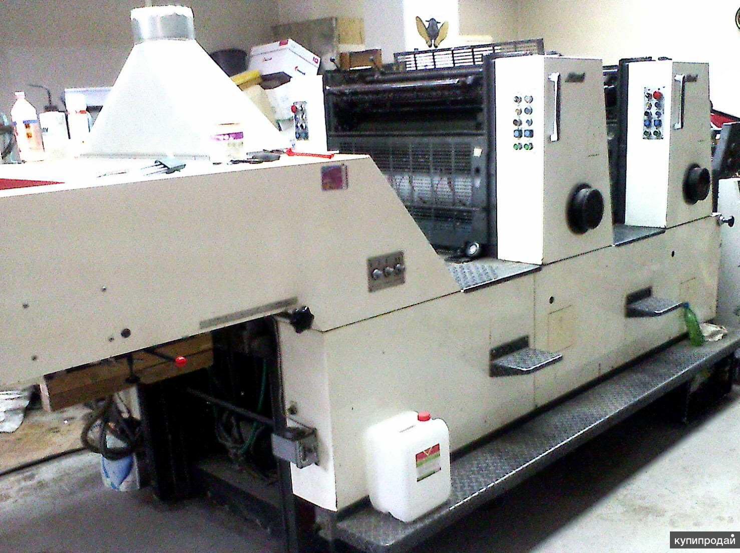 Продается печатный станок Sakurai Oliver-272-EP 52x72 2-х красочная с переворото