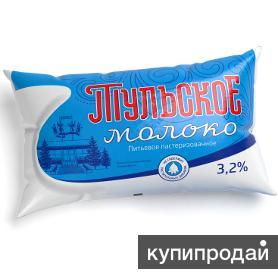 Продажа молока «Тульское» жирностью 3,2%