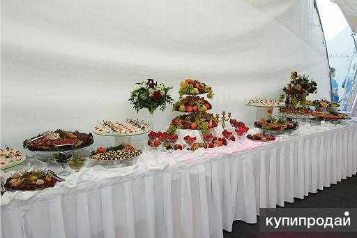 Организация выездных мероприятий от посуды до шатров