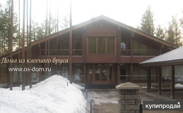 Строительство домов из бревна и клееного бруса в Спб и Ленобласти