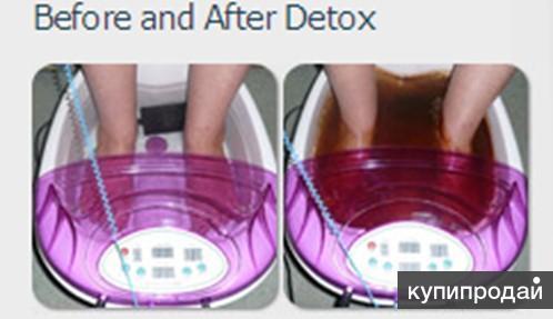 Очищающая от токсинов ионная ванна для ног