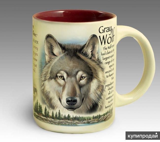 Кружка керамическая Gray Wolf (American Expedition)