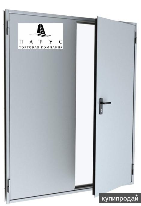 металлической технической двери уличного исполнения 2000х900
