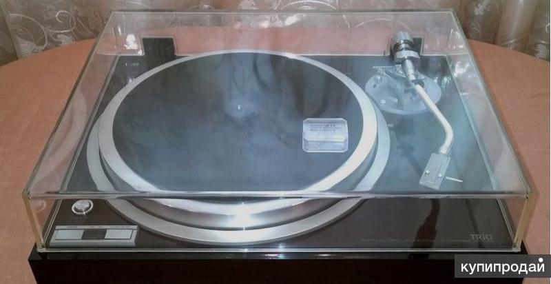 Проигрыватель виниловых пластин Kenwood (trio) KP-700D