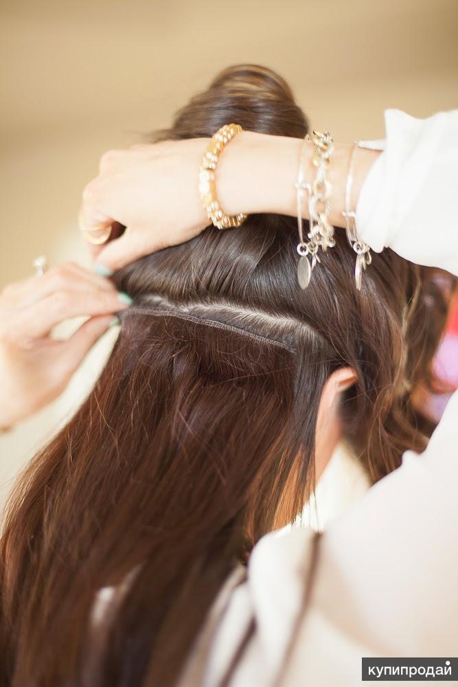 Накладные пряди, волосы на заколках