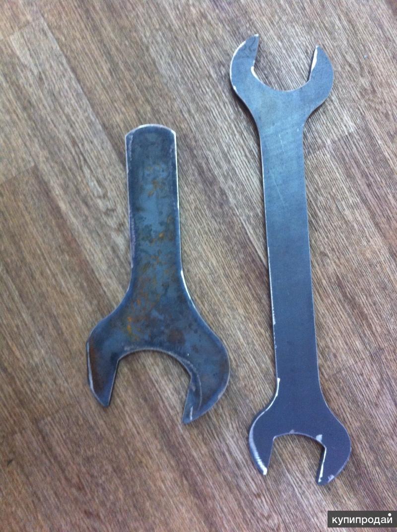 Ключи рожковые размером 55, 60, 65, 70, 75, 80, 85, 90