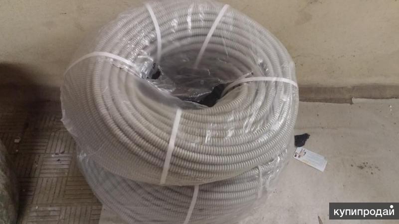 гофра пластиковая для электрокабеля Ф16мм